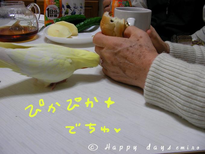ピカピカでちゅ
